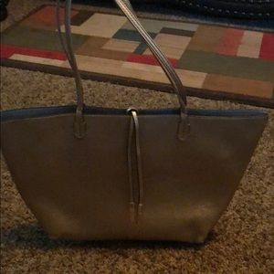 Remi&reid reversible gold and silver tote